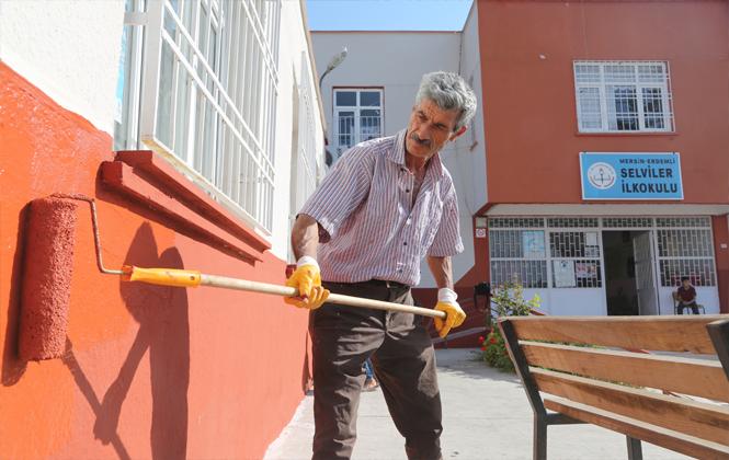 Selviler Okulu Belediye İle Yenileniyor