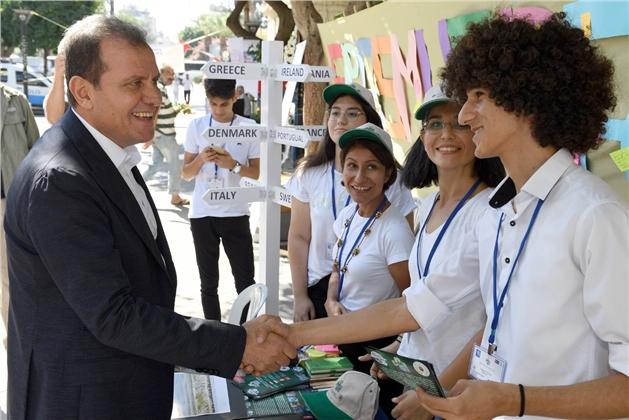 Başkan Seçer, #Erasmusdays Gününe Katıldı