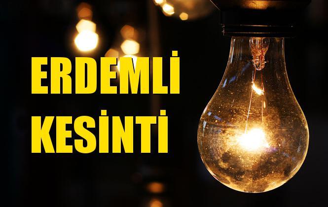 Erdemli Elektrik Kesintisi 15 Ekim Salı