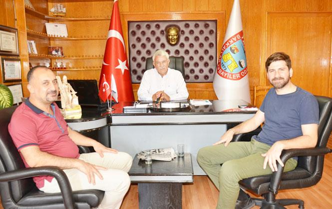 Ali Boltaç, Başkan Erdoğan Yalçın'la Bir Araya Gelerek Projenin Altyapı Detaylarını Konuştu