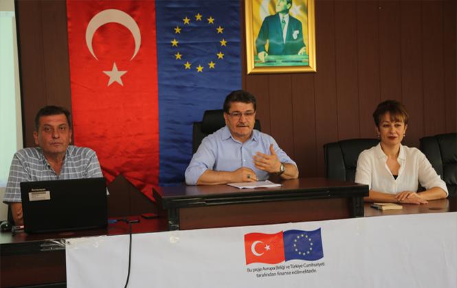 Erdemli Belediyesi, Avrupa Birliği Destekli Proje Eğitimlerine Başladı