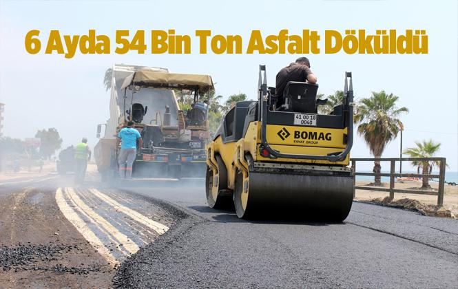 Mersin Büyükşehir Belediyesi'nden Asfalt Atağı
