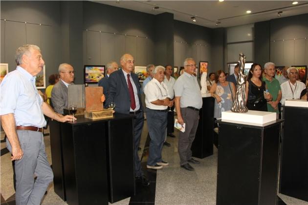 Atalay ve Arıkan'ın Eserleri Mersin Deniz Müzesinde Sergileniyor