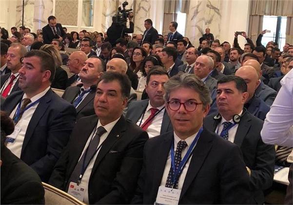 Tarsus Ticaret ve Sanayi Odası Başkanı Koçak, Bakü'de ''Türk Dili Konuşan Ülkeler İş Forumu''na Katıldı