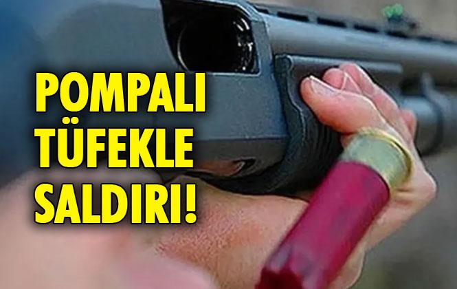 Mersin Tarsus'ta Pompalı Tüfekle Saldırı 1 Ağır Yaralı