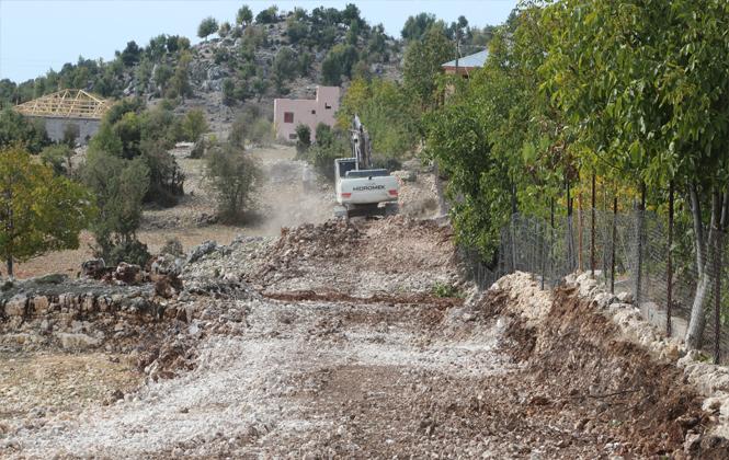 Koramşalı'ya Belediye İle Yeni Yol Açımı