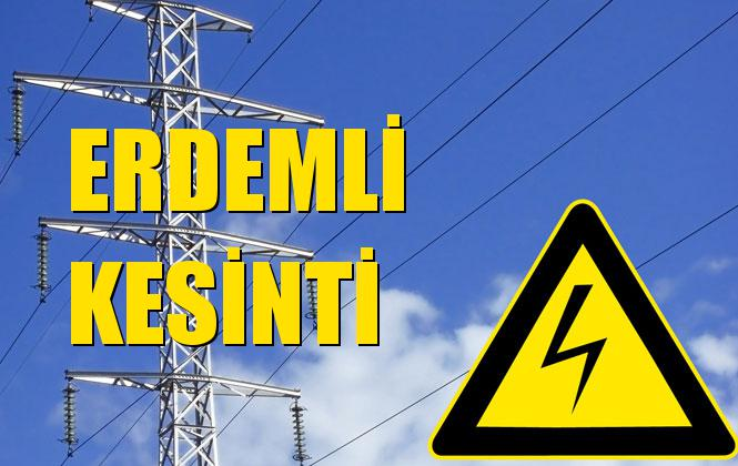 Erdemli Elektrik Kesintisi 18 Ekim Cuma