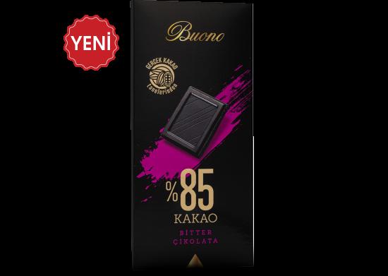 %85 Kakaolu Bitter Çikolata Buono 100 g
