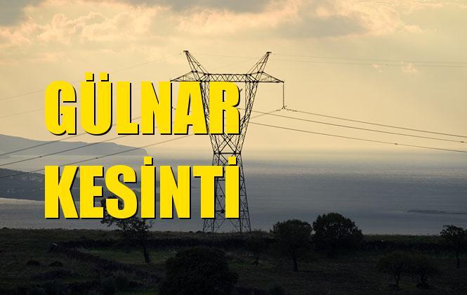 Gülnar Elektrik Kesintisi 21 Ekim Pazartesi