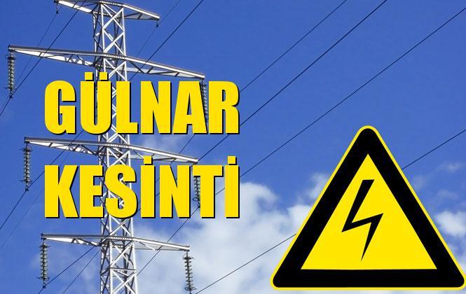 Gülnar Elektrik Kesintisi 22 Ekim Salı