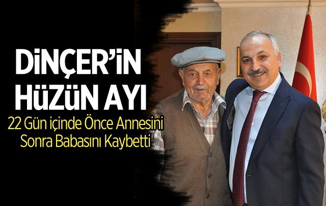 Mersin ESOB Başkanı Talat Dinçer'in Babası Bilgi (Hayrettin) Dinçer Hayatını Kaybetti