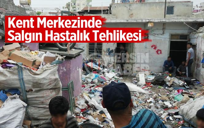 Mersin Tarsus Kent Merkezinde Salgın Hastalık Tehlikesi!