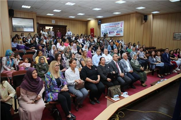 Akdeniz Belediyesi'nden Meme Kanseri Farkındalık Semineri