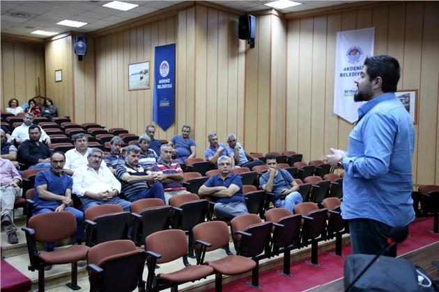 Akdeniz Belediyesi'nden, Personele İş Sağlığı ve Güvenliği Eğitimi