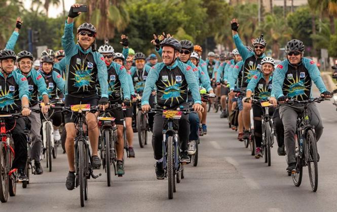 Mersin'de 6. Caretta Bisiklet Festivali Başladı