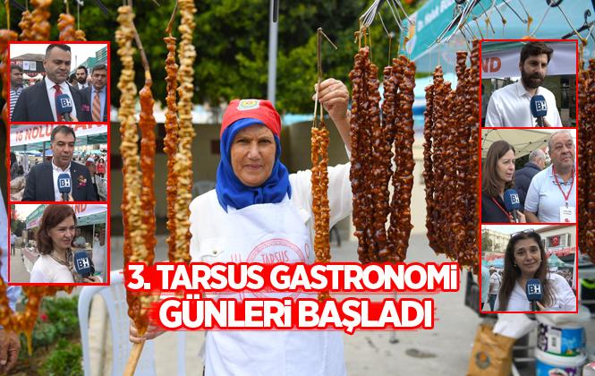3. Tarsus Gastronomi Günleri Başladı