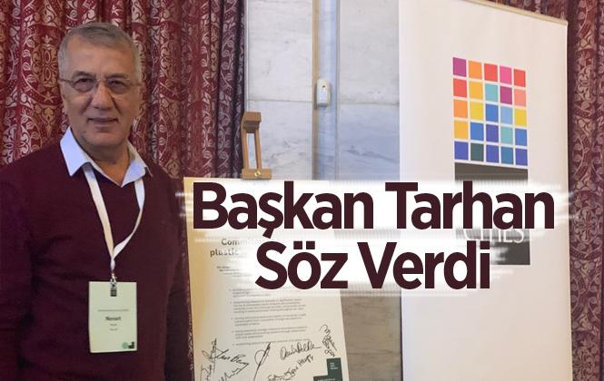 Mezitli Belediye Başkanı Başkan Tarhan'dan Plastik Kirliliği Azaltma Sözü