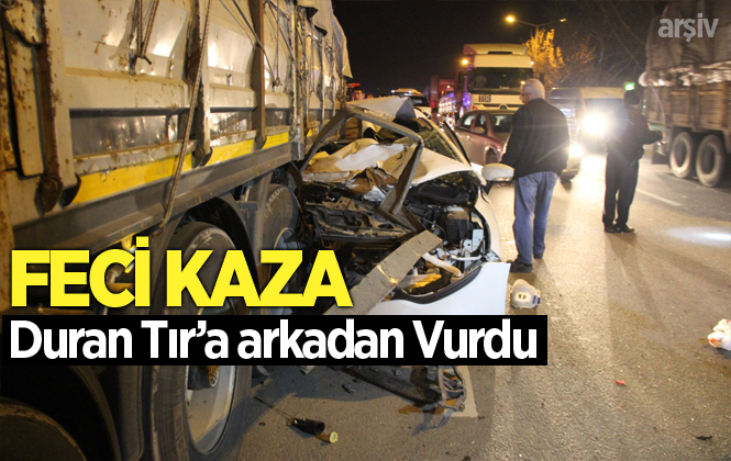 Mersin Tarsus'ta Ki Kazada Mehmet Köksal Yaşamını Yitirdi