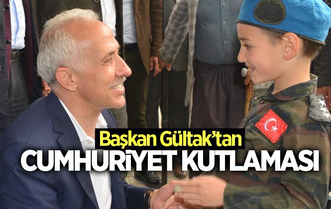 """Akdeniz Belediye Başkanı Mustafa Gültak: """"cumhuriyetimizin 96'ncı Yaşı Kutlu Olsun"""""""