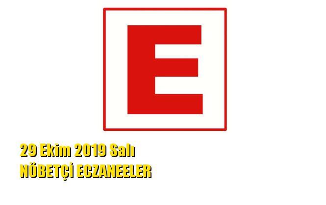 Mersin Nöbetçi Eczaneler 29 Ekim 2019 Salı