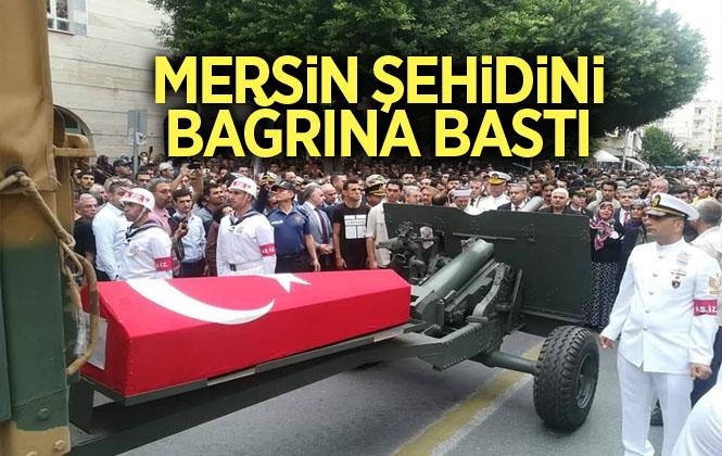 Mersin Şehit Mustafa Korkmaz'ı Son Yolculuğuna Uğurladı