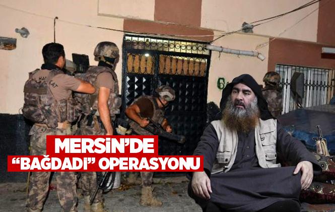 Mersin'de Eylem Hazırlığında Olan 5 DEAŞ'lı Gözaltına Alındı