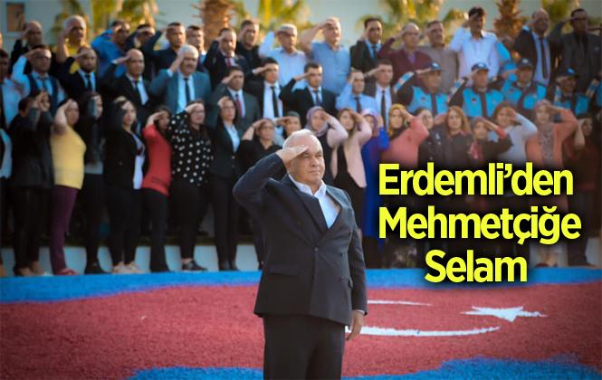 Erdemli Belediyesi'nden Mehmetçiğe Moral Desteği