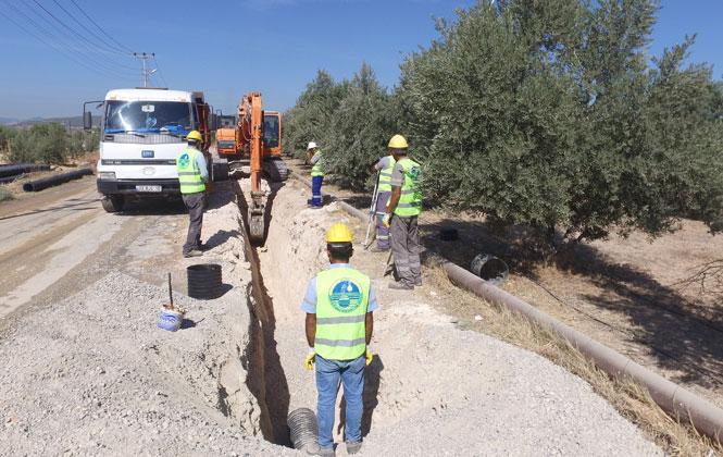 Mezitli Batı Havzası 2. Kademe Kanalizasyon Hatlarının Yapımında Sona Gelindi