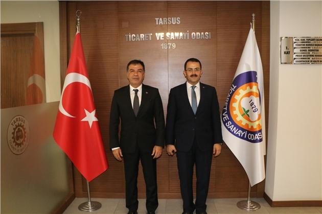 Tarsus Cumhuriyet Başsavcısı Tiryaki'den Tarsus TSO Ziyareti