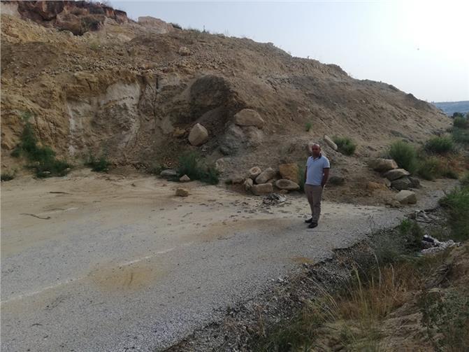 Heyelan Nedeniyle Kapanan Tarsus-Çamlıyayla Yolu 10 Aydır Açılmayı Bekliyor