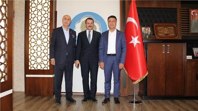 Başsavcısı Ramazan Murat Tiryaki'den Tarsus Ticaret Borsası'na Ziyaret