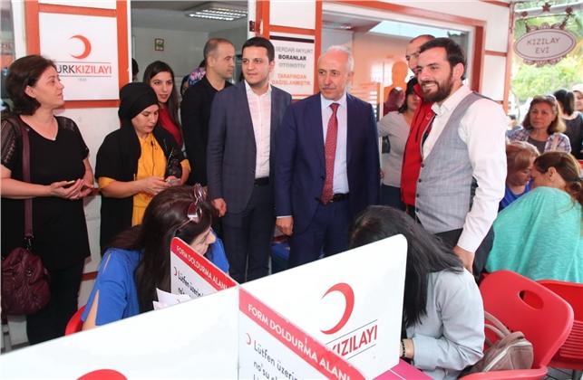 Başkan Mustafa Gültak, Kan Bağışı Çağrısı Yaptı