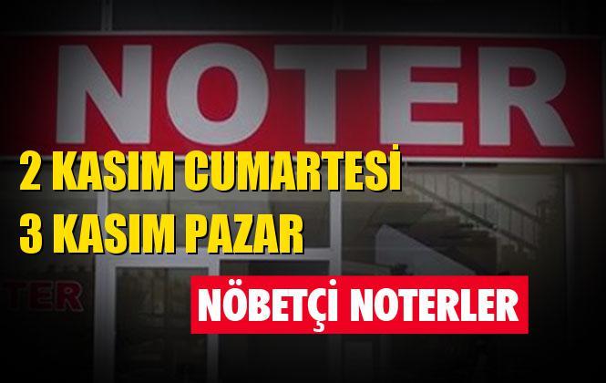 Nöbetçi Noter! 2 Kasım Cumartesi ve 3 Kasım Pazar Günü Mersin ve Tarsus'ta Nöbetçi Noterler