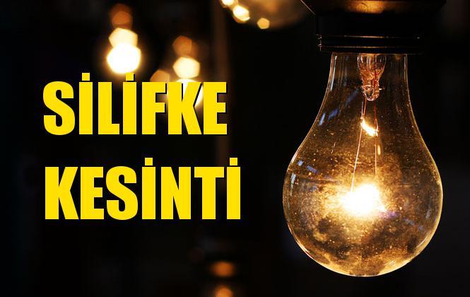 Silifke Elektrik Kesintisi 04 Kasım Pazartesi