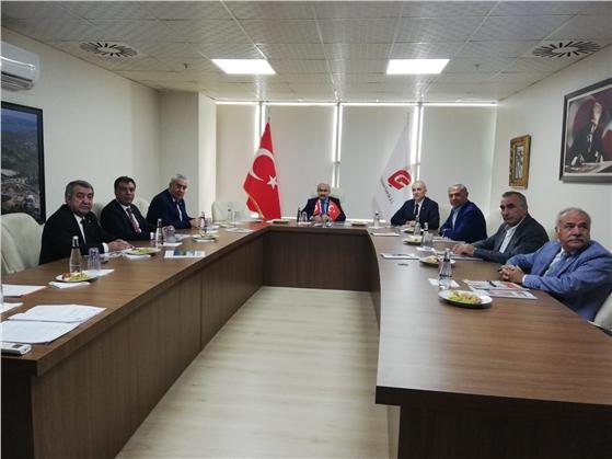 ÇUFAŞ Yönetim Kurulu Toplantısı Yapıldı