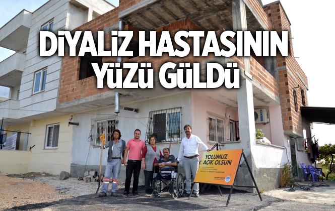 Büyükşehir, Diyaliz Hastası Çiçekoğlu'nun Yüzünü Güldürdü
