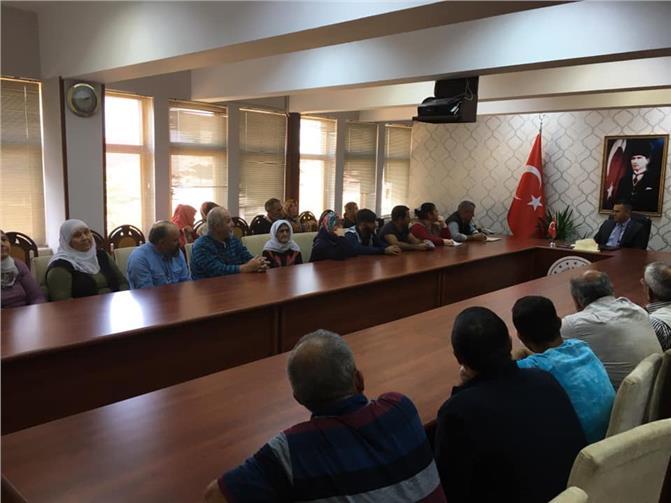 Tarsus'ta Vatandaş Devletin Sıcaklığını Hissetmeye Devam Ediyor