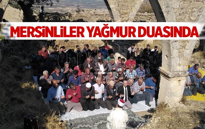 Mersin Mut İlçesinde Vatandaşlar Yağmur Duasına Çıktı