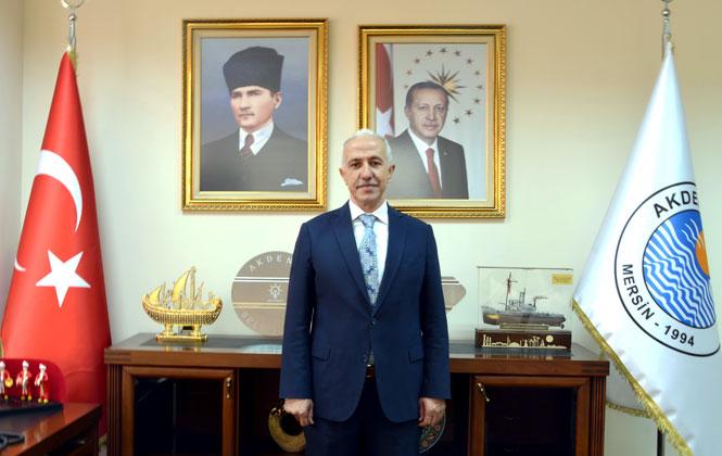 Akdeniz Belediye Başkanı Mustafa Gültak'tan 10 Kasım Mesajı