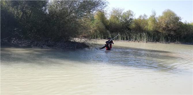 Metin Silifke'de Irmağa Atlayan Ertan Şimşek'in Cesedi Bulundu