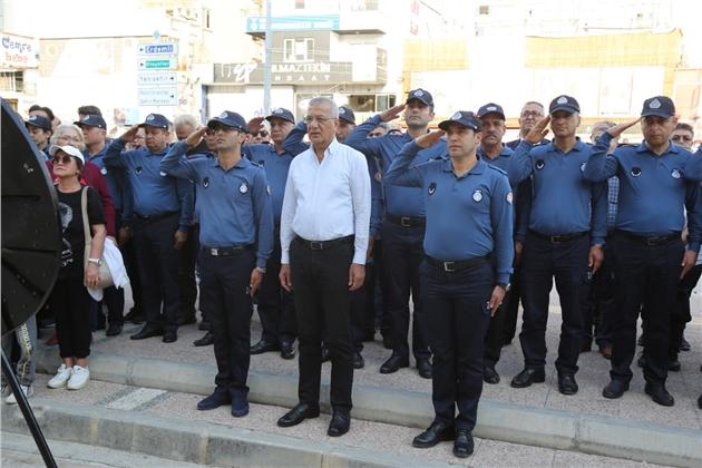 Mezitli'de 7'den 77'ye Atatürk Anması
