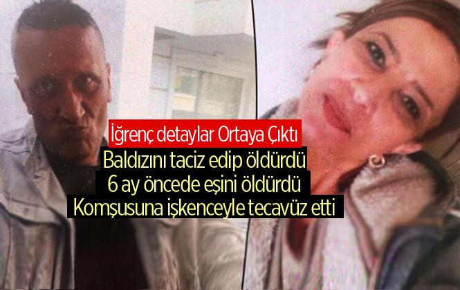 Eşini Öldürdükten Sonra Mersin Tarsus'ta Yakalanan Özcan Işıldar'ın Sicili Kirli Çıktı