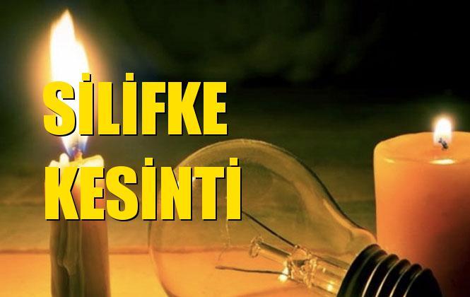 Silifke Elektrik Kesintisi 13 Kasım Çarşamba