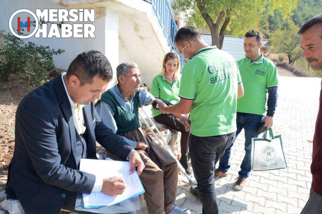 Gülnar'dan Sosyal Belediyecilik Çalışması