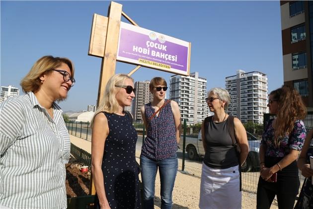 Mezitli Belediyesi'nin Projelerine Alman Hayranlığı