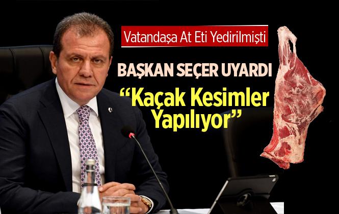 """Mersin Büyükşehir Belediye Başkanı """"Kaçak Kesim Yapılıyor"""""""