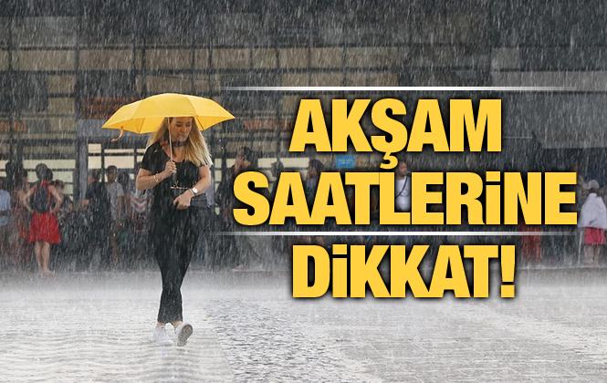 Meteoroloji Şiddetli Yağış İçin Uyarı Yaptı