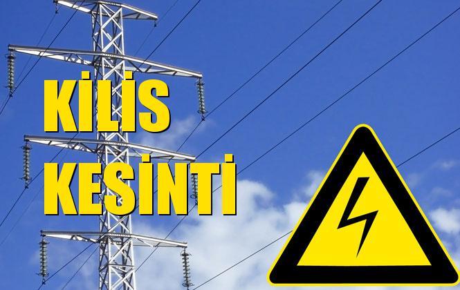 Kilis Elektrik Kesintisi 14 Kasım Perşembe