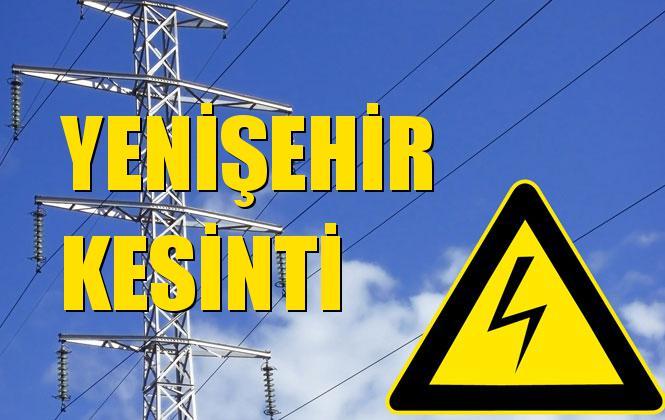 Yenişehir Elektrik Kesintisi 15 Kasım Cuma