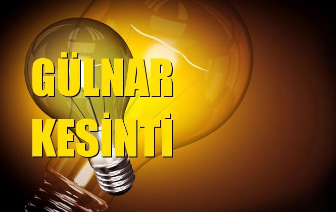 Gülnar Elektrik Kesintisi 16 Kasım Cumartesi
